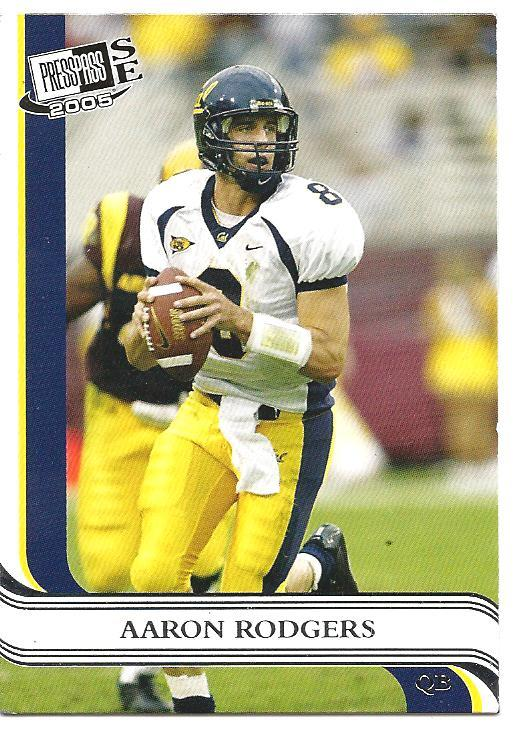 Aaron Rodgers 2005 Presspass Se Rookie Card Trade Cards Now