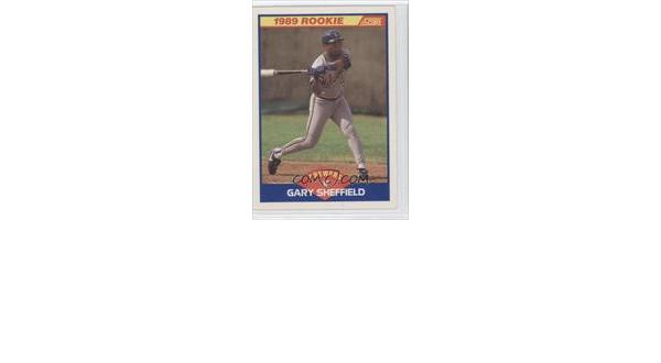 1989 Score Gary Sheffield Rookie Card Trade Cards Now